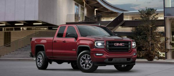 Red GMC Sierra 1500 Pickup Truck