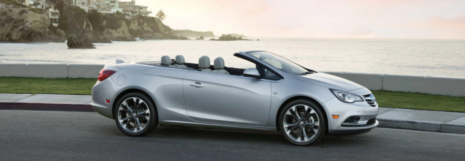 The 2018 Buick Cascada, in a blog post about summer activities in Wilmington, NC.