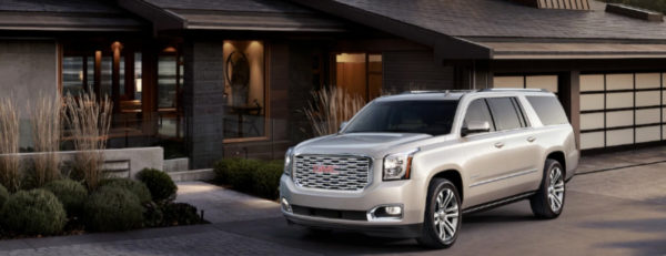2019 GMC Yukon parked in driveway