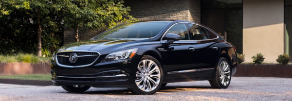 black sedan 2019 Buick LaCrosse